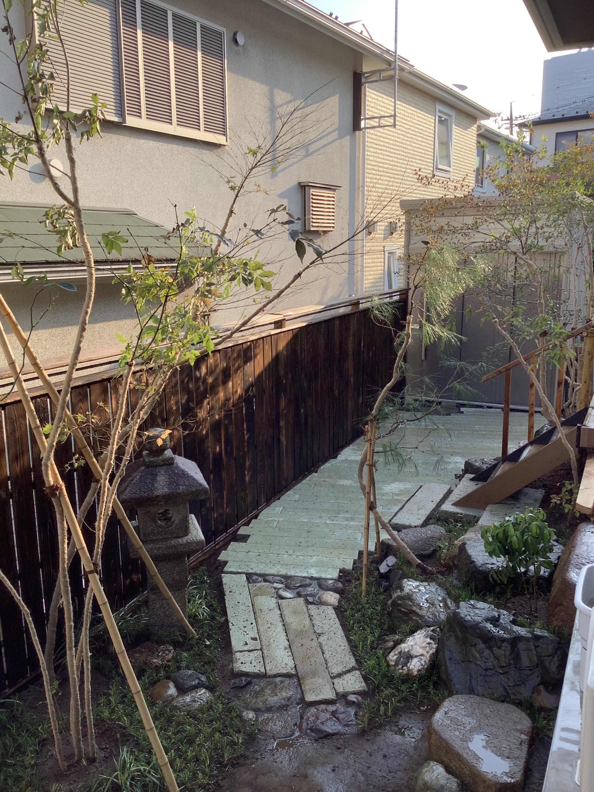 都市部の煎茶的庭 埼玉県(さいたま新都心)-10