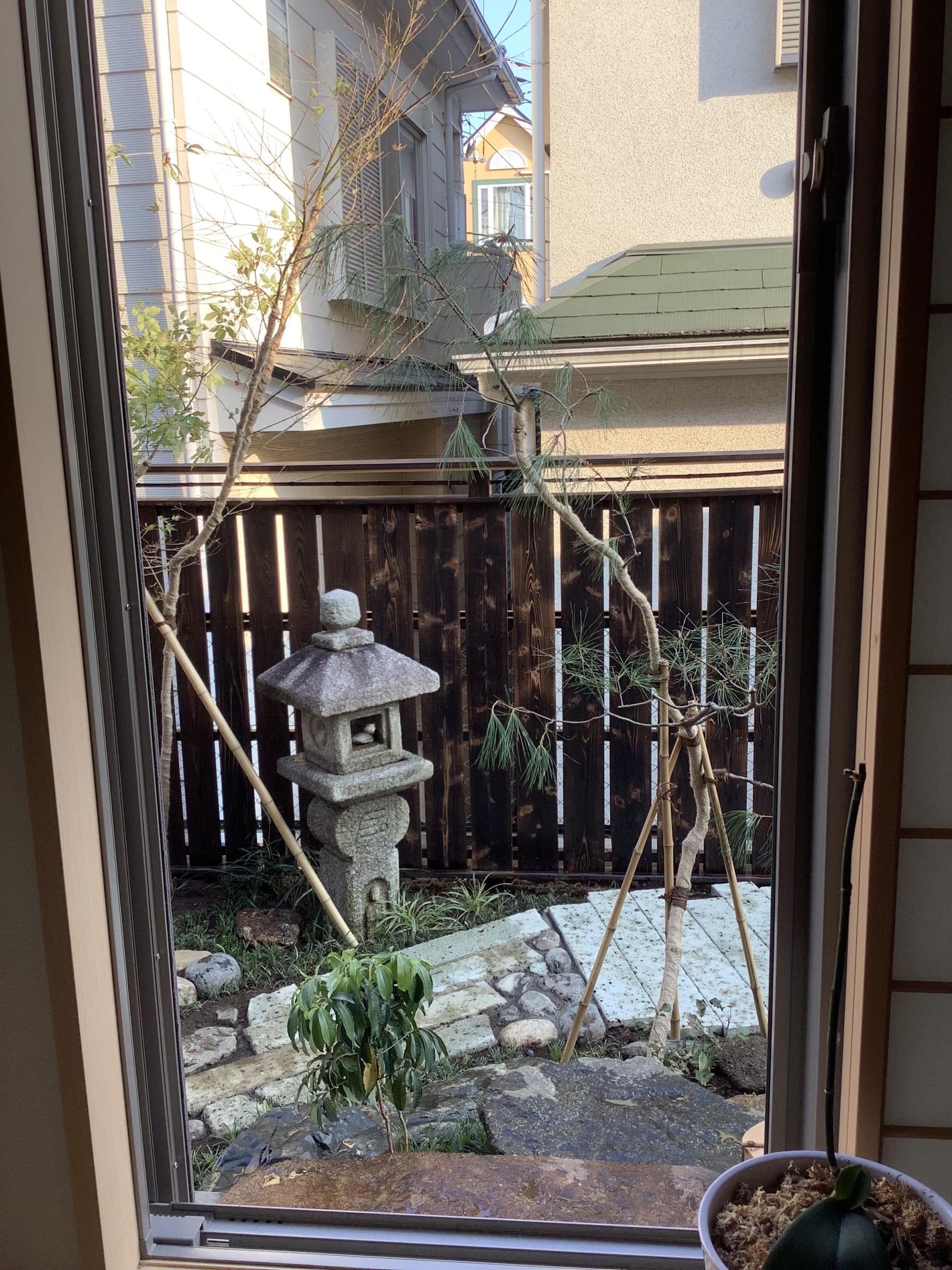 都市部の煎茶的庭 埼玉県(さいたま新都心)-17