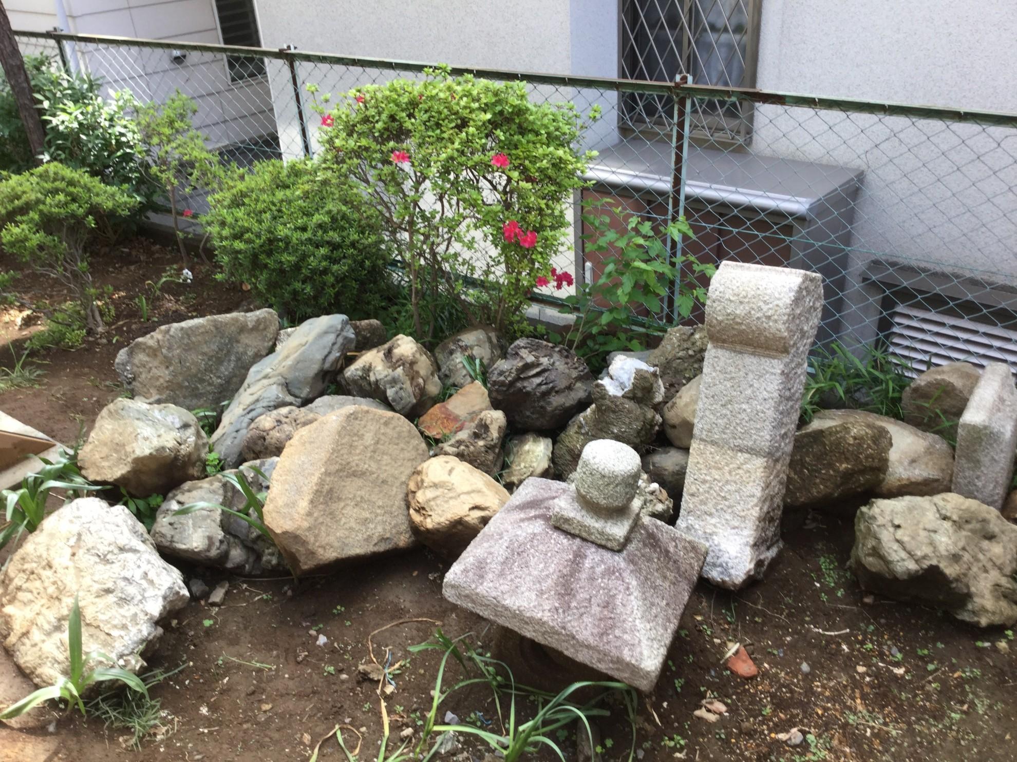 都市部の煎茶的庭 埼玉県(さいたま新都心)-3