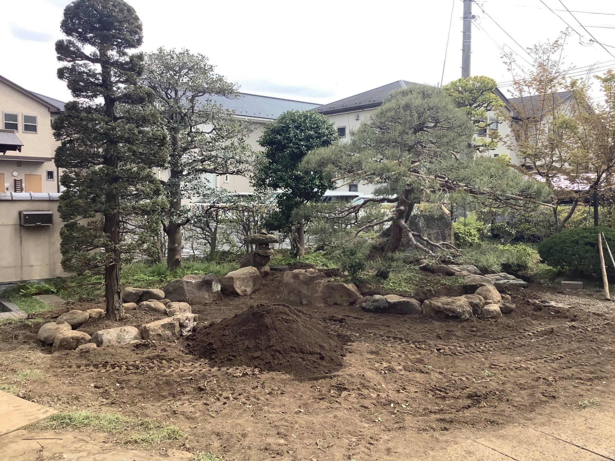 枯山水の庭 リガーデン 埼玉県(狭山市)-3