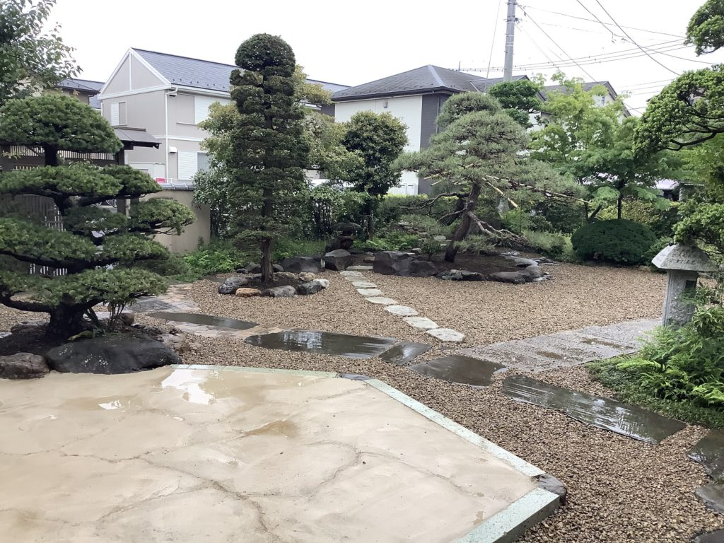 枯山水の庭 リガーデン 埼玉県(狭山市)-1