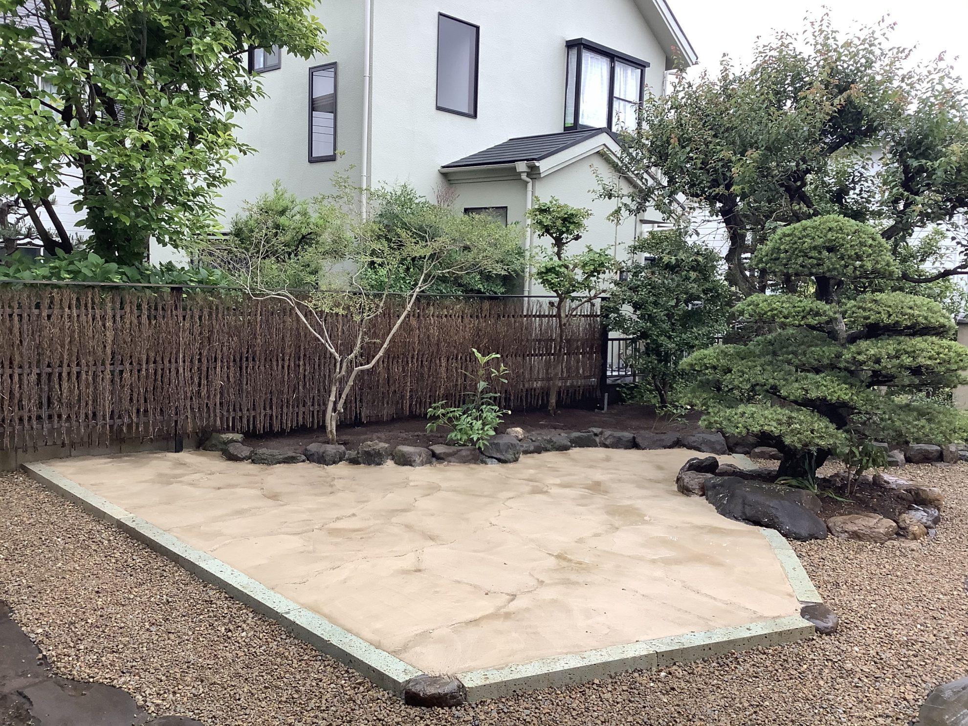枯山水の庭 リガーデン 埼玉県(狭山市)-7