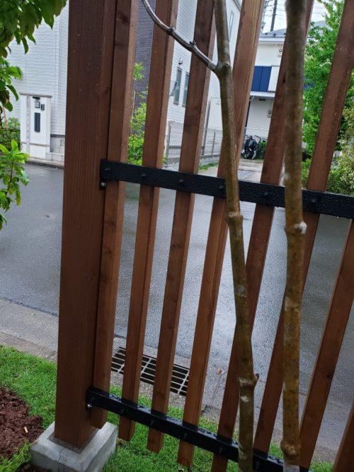 ウッドフェンスの庭 造園工事(埼玉県の事例)-5